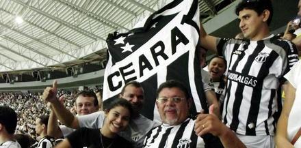 Vendo o Ceará ser campeão Cearense.