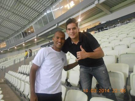 Torcendo junto com o atleta João Marcos