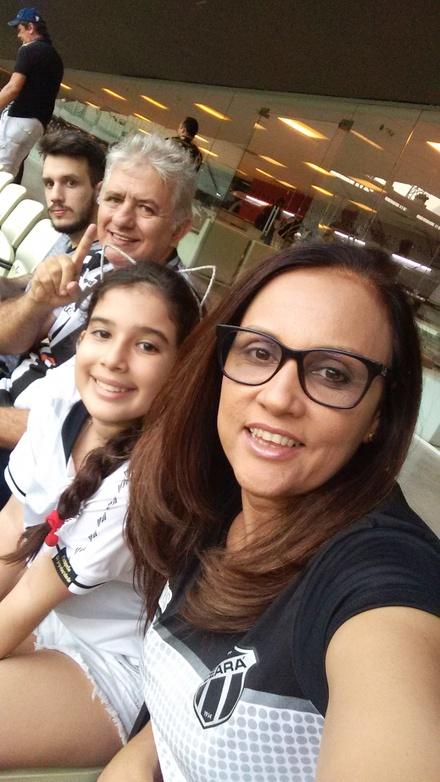 Família Alvinegra sempre apoiando o VOZÃO... Muito mais que um vício...