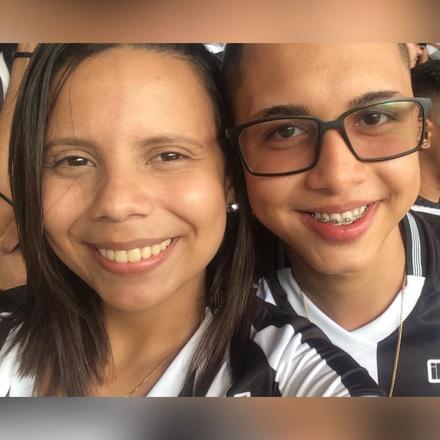 Ritielle Carvalho e Jonathan Alves - Ceará x Vásco 2018