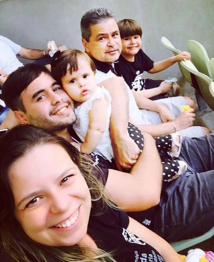 Amor da familia pelo CSC.