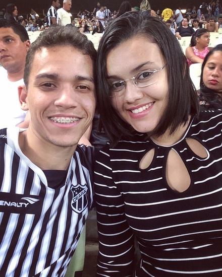 Juliane Sousa  e Thiago Ferreira