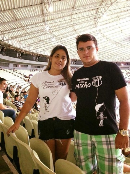 Natyara Farias e Carlos Germano Freitas
