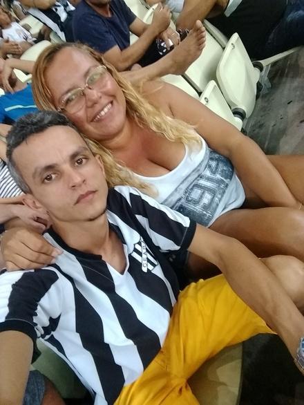 Sempre Juntos pelo Vozão Patrícia Rodrigues e João Paulo