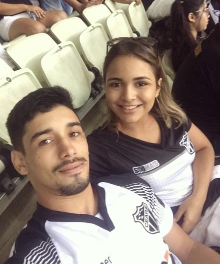 Enia Letícia e Allison Ribeiro