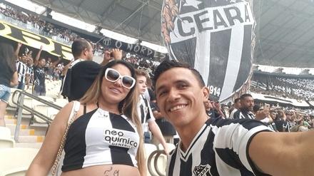Michelly e Paulo Sérgio