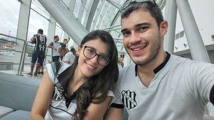 Naíla Jorge e Filipe Ribeiro