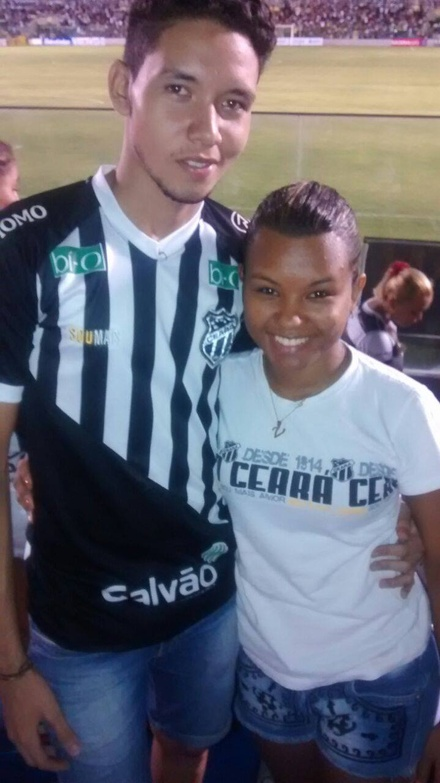 Anna Sarah e João Vitor