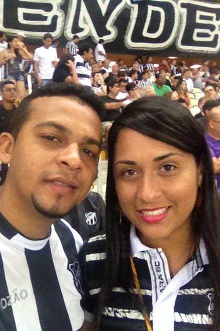 Clara Nascimento e Kelson Nogueira
