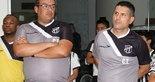 [06-01] Elenco do Ceará visita Centro Cultural2 - 2  (Foto: Rafael Barros/CearáSC.com)