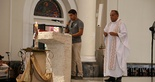 [09-04-2016] Missa de decreto - João Paulo II é padroeiro do Ceará SC - 28  (Foto: Christian Alekson / cearasc.com)