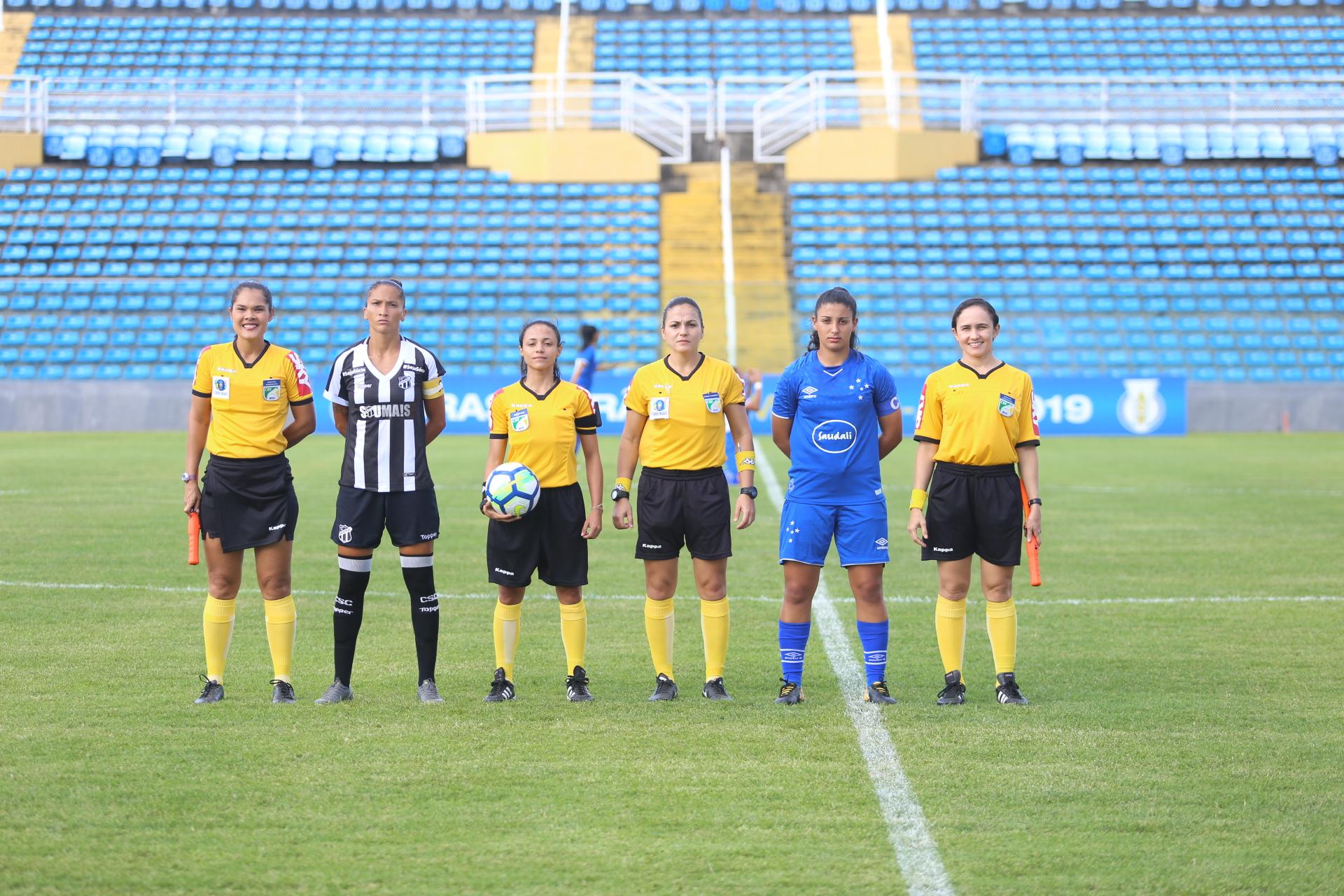 ae111be013 Futebol Feminino: Jogando em casa, Ceará perde para o cruzeiro no ...