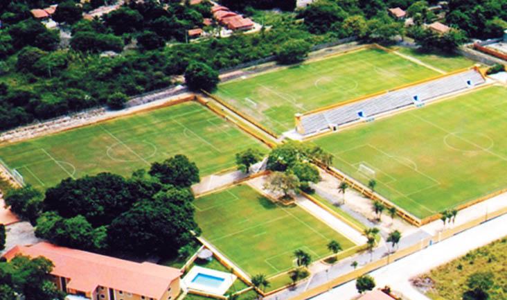 O novo Centro de Treinamento (CT) do Ceará Sporting Club fica localizado na cidade de Itaitinga/CE