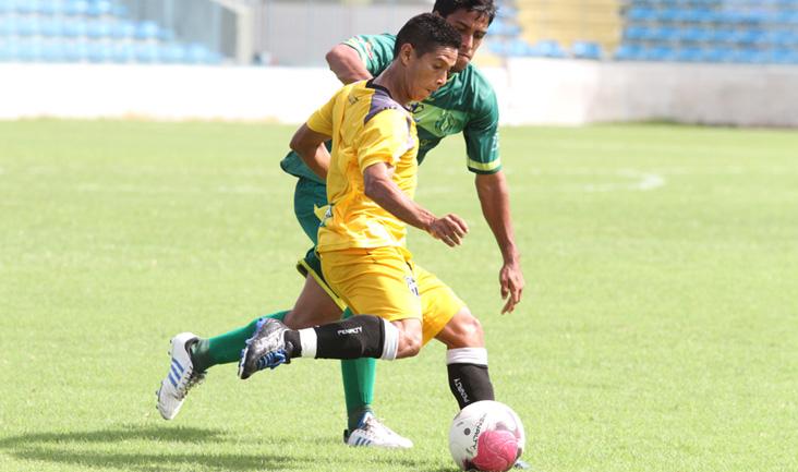 Sem ser substituído durante o jogo-treino, o atacante Cléo foi um dos destaques