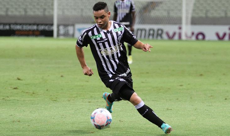 Nesta temporada, Lulinha já marcou oito gols com a camisa alvinegra