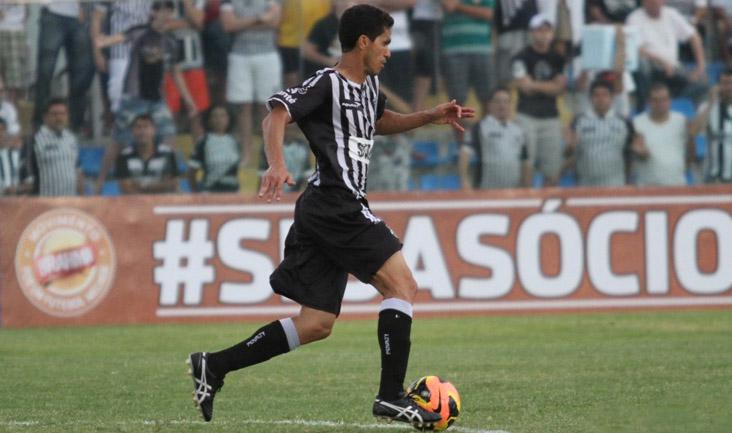 Contra o ABC, o atacante Magno Alves participou da jogada do gol de empate