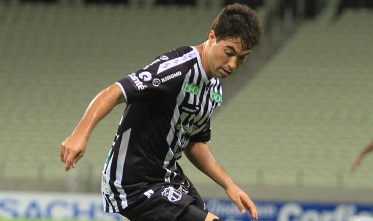 No jogo do primeiro turno, Marcos marcou o segundo gol do Ceará no empate em 2 x 2