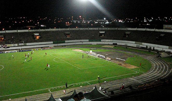 O estádio Morenão fica localizado em Campo Grande/MS (Foto: GloboEsporte.com)