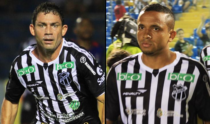 O atacante Mota e o meia Rogerinho não enfrentarão a equipe do ASA de Arapiraca/AL