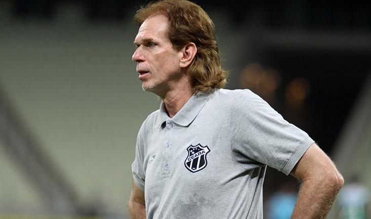Sérgio Guedes ficou no comando do time cearense em dez partidas