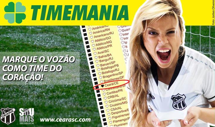 Nesta competição, quem marca o gol é você!