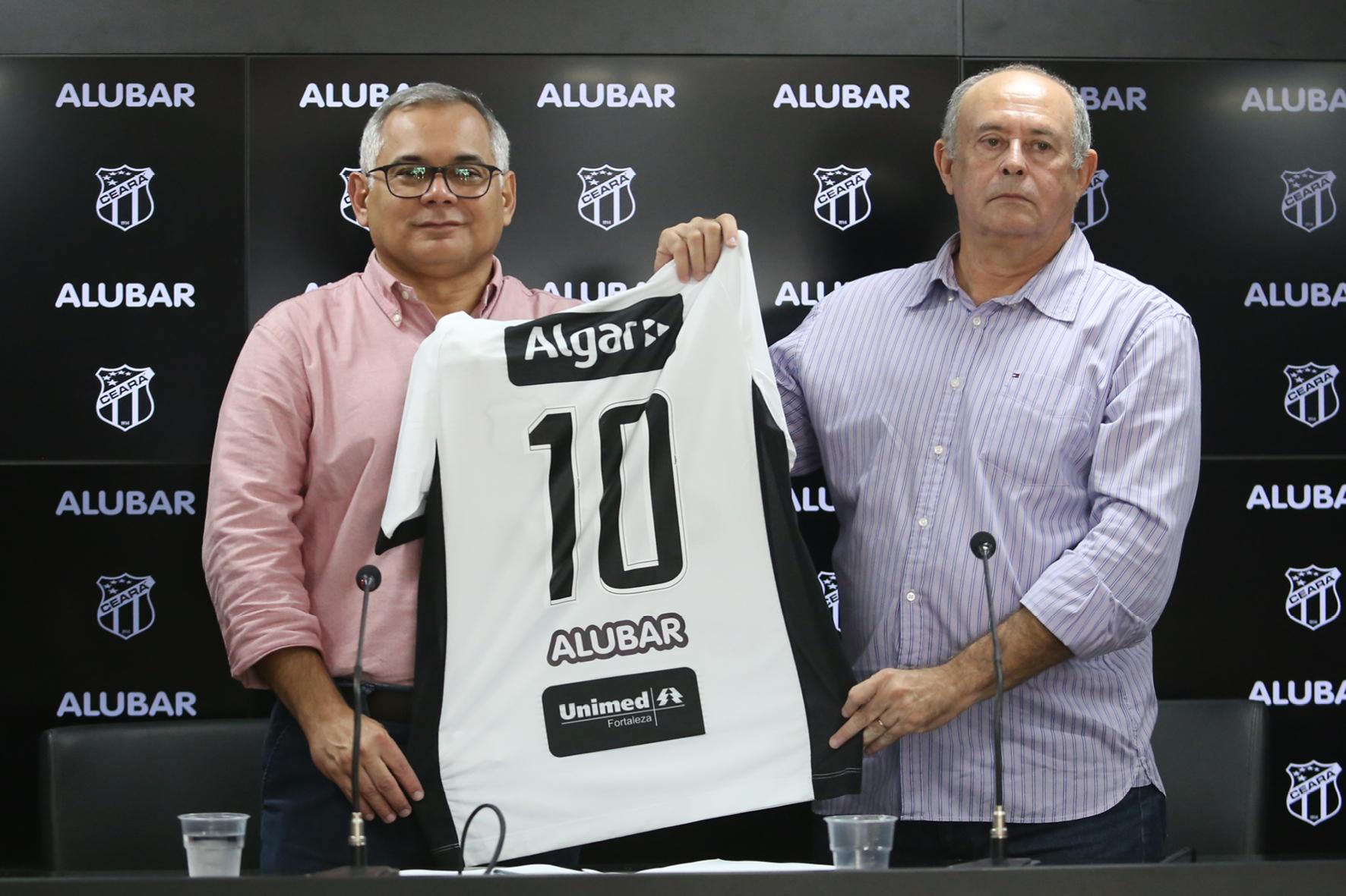 Patrocínio novo  Alubar é a nova parceria do Ceará para a temporada 2019 72b6fcadcf910