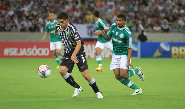 Contra o Palmeiras, o atacante Magno Alves marcou o seu 21º gol na temporada 2013