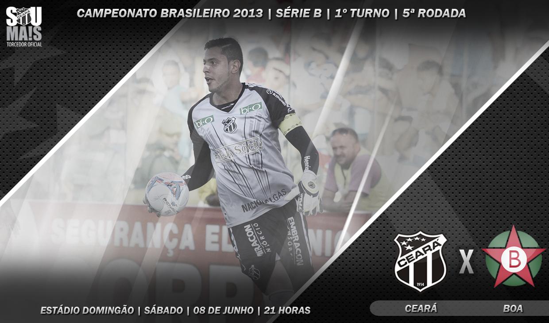 O confronto entre as duas equipes será realizado no estádio Domingão, em Horizonte/CE