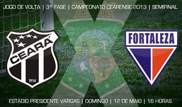 O duelo entre Fortaleza x Ceará vai acontecer no estádio Presidente Vargas (PV)