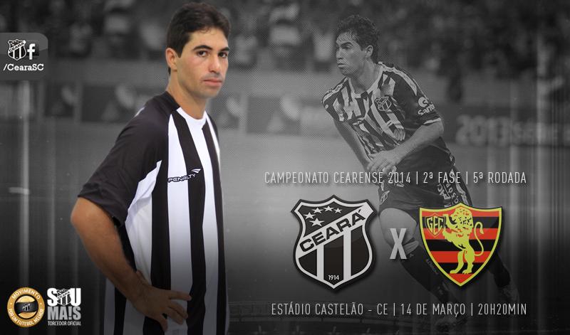 Ceará x Guarani de Juazeiro será realizado na noite desta sexta-feira