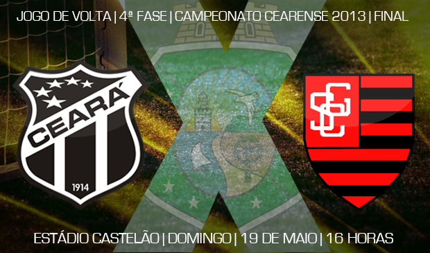 O duelo entre Ceará x Guarany será realizado às 16 horas deste domingo, no Castelão
