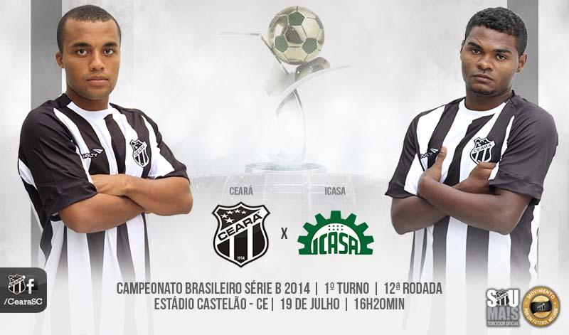 Ceará x Icasa será o primeiro compromisso do estádio após a Copa do Mundo