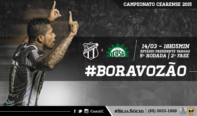 Hoje, no estádio Presidente Vargas (PV), o Ceará vai em busca dos três pontos
