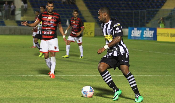 O lance do gol marcado por Tadeu aconteceu aos 13 minutos da etapa final