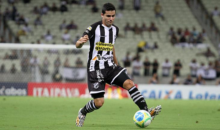No último jogo do Vozão, contra a Portuguesa, Eduardo deu uma assistência e teve boa atuação