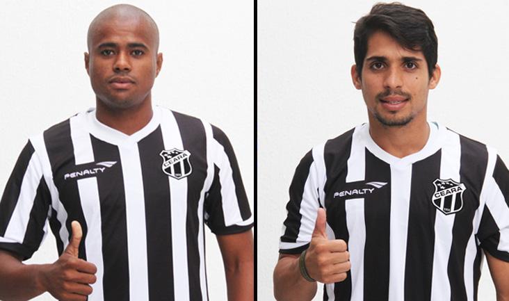 Os dois jogadores já treinaram na sede do Mais Querido e em breve poderão fazer suas estreias pelo Ceará