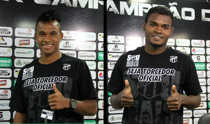 Gil e Nikão podem defender o Mais Querido no duelo de estreia no Campeonato Brasileiro Série B 2014
