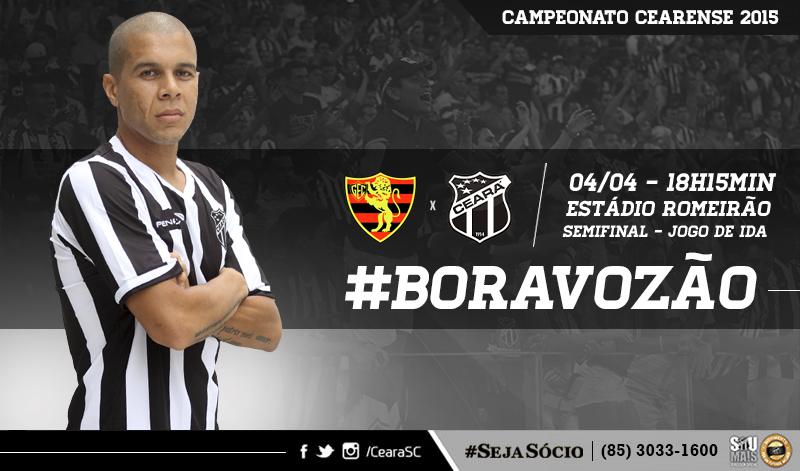 O jogo entre Guarani de Juazeiro x Ceará vai ser realizado no estádio Romeirão