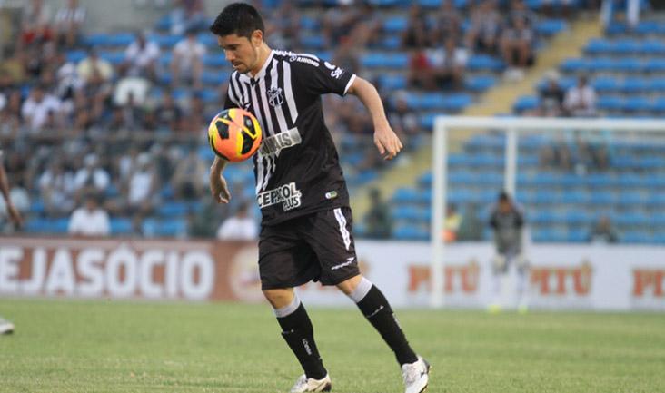 Diante do Itabaiana, Ricardinho vestiu a camisa 10 do Ceará