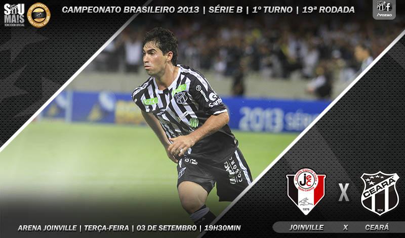 Joinville x Ceará vai acontecer nesta terça-feira, às 19h30min
