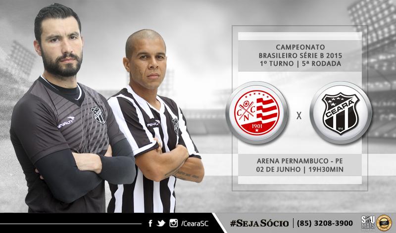O duelo entre Náutico x Ceará, vai acontecer a partir das 17h30min desta sexta-feira