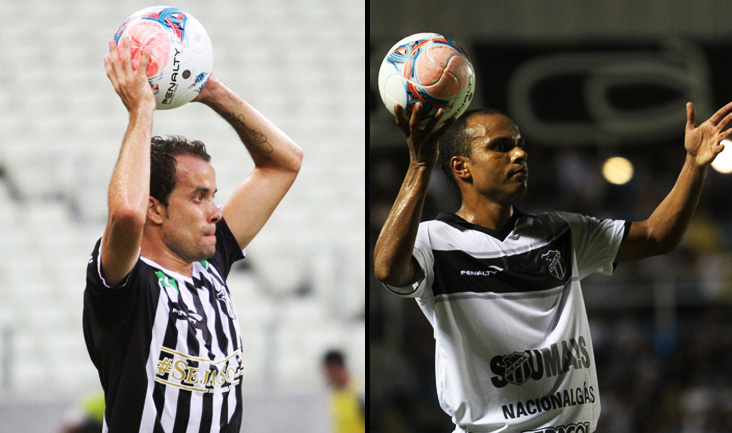 Os laterais-direito Rafael Cruz e Eric brigam pela camisa 2 do Alvinegro Cearense