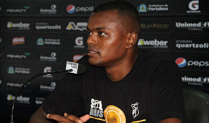 Em entrevista coletiva, Sandro Manoel disse que 2015 será um grande ano para o Ceará