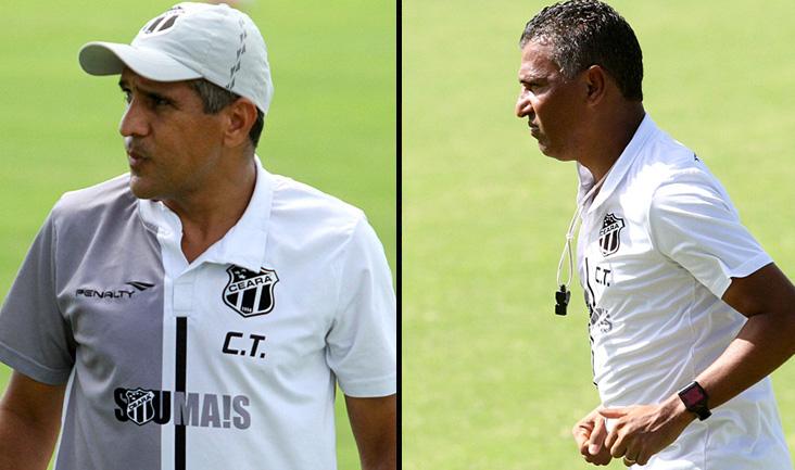 Todos os membros da diretoria alvinegra agradecem ao treinador e seu auxiliar, Paulo Pereira