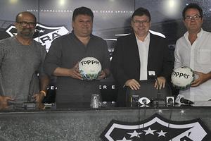 Ceará anuncia novo fornecedor de material esportivo