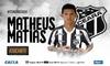 Atacante Matheus Matias chega para ser reforço do Vozão na temporada 2019