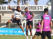 No Vovozão, Ceará encerra preparação para jogo contra o Botafogo