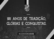 #Ceará101Anos: Parabéns, Ceará!!!