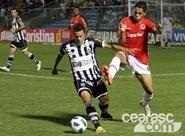 Confira os lances da partida entre Ceará 1 x 1 Internacional