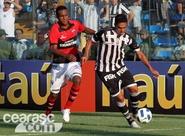 Ceará cede empate no fim e fica no 1 x 1 com o Atlético/GO
